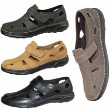 Sandalias de hombre de ante