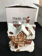 Disney Disneyland village A Christmas Carol Scrooge McDuck Counting House Mib