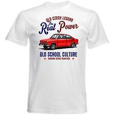 VINTAGE Ceco AUTO SKODA 110R-Nuovo T-shirt di cotone