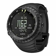 Suunto Core Smart Watch All Black Men SS014279010 Silicone Digital 8859070028153