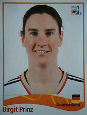 PANINI Birgit PRINCIPE GERMANIA FIFA donne WM 2011 GERMANY