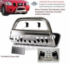 2002-2005 Dodge Ram 1500 Stainless Steel Classic Bull Bar Chrome push bar