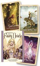 WILD WISDOM OF THE FAERY ORACLE Tarot Kit Card Deck Fairy Book Set Selina Fenech