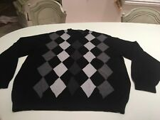 Axcess A Claiborne Company Men's Extra-Large Black Sweater Longsleeve