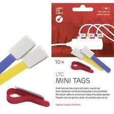 Supporto ferma cavo label the cable 2530 blu giallo rosso