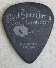 Intunegp G 00004000 Rippx Black Stone Cheery Jon Lawhon Black Guitar Pick #053