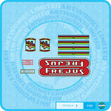Frejus Decals - Bicycle  Transfers - Stickers - Set 2
