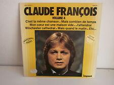 CLAUDE FRANCOIS Collection IMPACT Volume 4 C est la meme chanson ... 6886185