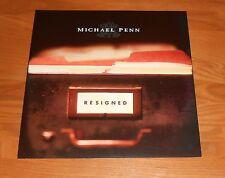 Michael Penn Resigned Poster 2-Sided Flat Square 1997 Promo 12x12 Rare