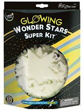 Great Explorations Wonder Stars Super Kit Glow In The 150Piece In 4 Sizes