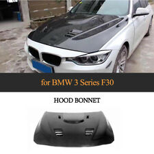 Fit For BMW F30 318i 320i 335i 340i 13-18 Carbon Fiber Front Engine Hood Cover