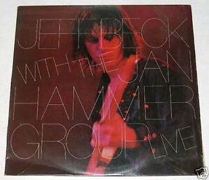 Philippines JEFF BECK W/ THE HAMMER GROUP LIVE LP Record
