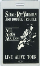 STEVIE Ray VAUGHAN 1986 Laminated Backstage Pass
