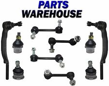 10 Pcs Front & Rear Sway Bar Link Outer Tie Rod End 16mm for Chevy & GMC Isuzu