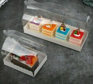 Any Party Packaging Creative Pastries Transparent Portable Box Birthdays Wedding