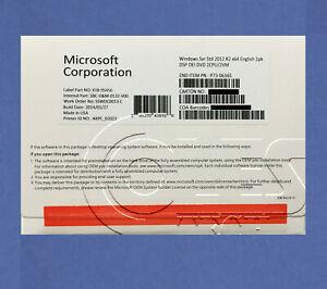 Microsoft Windows Server 2012 R2 Standard 64 bit OEM P73-06165*