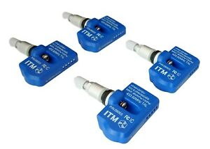 (4) TPMS Tire Pressure Sensors Replacement for 2009-2020 Dodge Challenger SRT