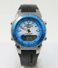 Orologio casio marine gear MRP-700 watch dual time clock reloy digital horloge