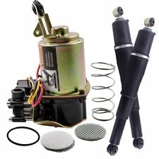 Pair Rear Suspension Air Shock & Compressor Kit for Chevy Tahoe 2002-2014