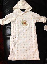 Disney Sleeves Hooded Sleep Pod  Size 0-S Winnie The Pooh Embroidery Motif New