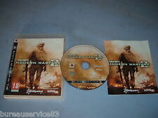 CALL OF DUTY MODERN WARFARE 2 PLAYSTATION 3 PS3 COMPLET (envoi suivi)