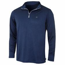 Calvin Klein Golf Tech Half Zip in Navy Size M Z70