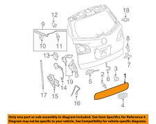 Buick GM OEM 08-17 Enclave Lift Gate-Handle, Outside 23374287
