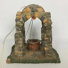 """Fontanini 8"""" Lighted Dome Well For 5"""" Nativity Village #94884"""