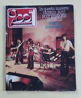 CIAO 2001 N. 32 DEL 1976 76 Umbria Jazz – Genesis – Goblin - Bennato