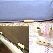 4PCS Sheet Grippers Fasteners Clips Holders Keep Sheet Snug Wrinkle #M1417 QL