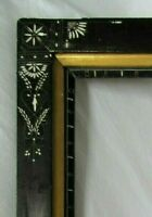 """BIG Antique Fits 16"""" x 24.25"""" Eastlake Picture Frame Country Primitive Victorian"""