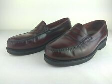 Rockport Penny Loafers Burgundy Shoes US Size 9 w