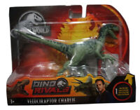 "Jurassic World Dino Rivals Velociraptor Charlie 6.5"" Figure Raptor NEW"