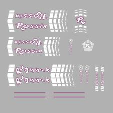 Rossin Bicycle Frame Stickers - Decals - Transfers - n.54