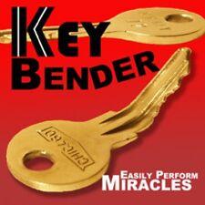 Magician Key Bender Miracle Gimmick Metal Bending Real Mentalism Magic Trick