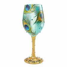 Lolita 4056857 Pretty As A Peacock Wine Glass