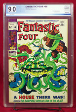 Fantastic Four #88 (Marvel 1969) PGX (not CGC) 9.0 VF/NM - A HOUSE THERE WAS!!!