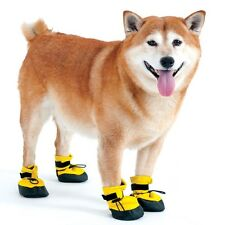 Arctic Winter Dog Boots for Dogs Yellow XS fleece lining Keep Warm
