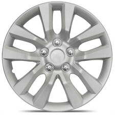 Premium 16 Inch Hubcap 16 Wheel Rim Cover Hub Caps OEM Style Snap On for Car Truck SUV BDK 1Pc Replacement