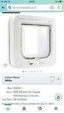 SureFlap SUR001 Microchip Cat Door - White