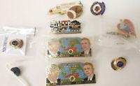 Lions Club Pins from North Carolina Year Era 2000 (Lot of 9 Pins)