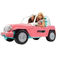 Barbie Car With Two Dolls Jeep