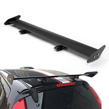 Universal Hatch Adjustable Aluminum GT Rear Trunk Wing Racing Spoiler Black 13#/