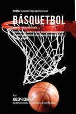 Recetas para Construir Musculo para Basquetbol, para Pre y Post Competencia :...