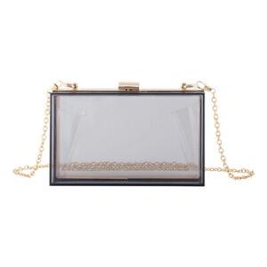 Girls Women's Acrylic Bag Vintage Banquet Handbags Purses Clutches Evening Bags