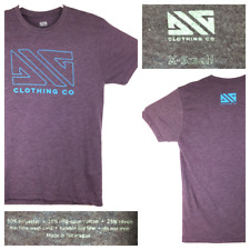New listing Dig Clothing Co. Mountain Bike 'Legacy' XS (33 in Chest) Purple Logo S/S T-Shirt