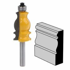 Shank Architectural Cemented Carbide Molding Router Bit Cutter For Wood Cutting