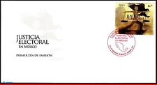 2580 MEXICO 2008 - ELECTORAL JUSTICE, EAGLE, FDC
