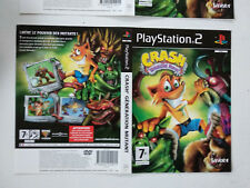 Jaquettes/Front-Back Crash bandicoot Generation mutant Sony Playstation PS2 FR