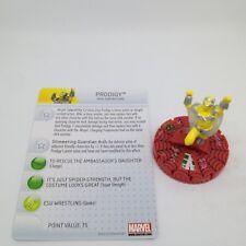 Heroclix Amazing Spider-Man set Prodigy #053 Chase figure w/card!